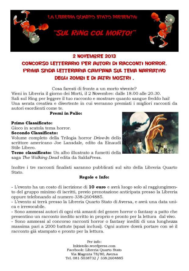 Torneo Letterario 2 NOVEMBRE 2013!